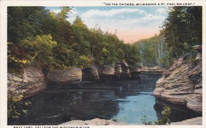 Navy Yard On The Dells Of Wisconsin River Wisconsin 1922