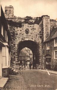 Rye Land Gate Street Postcard