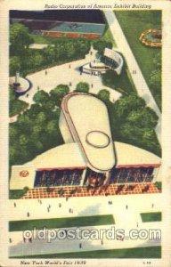 Radio Corporation of America 1939 New York USA Worlds Fair Exposition 1939 cr...