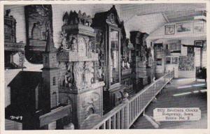 Iowa Ridgeway Bily Brothers Clocks Hand Carved Clock Collection