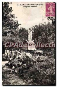 Postcard Old Virgin Sainte Suzanne De Beausoleil