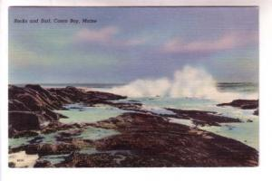 Rocks and Surf, Casco Bay, Maine