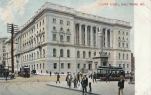 BALTIMORE , Maryland , 1901-07 ; The Court House