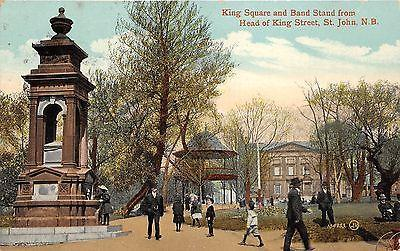 Saint John New Brunswick~King Square & Band Stand From He...