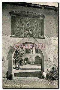 Postcard Modern Stein. Rh. Kloster St. Georgen