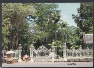 Mauritius Postcard - Botanical Garden of Pamplemousses T7044