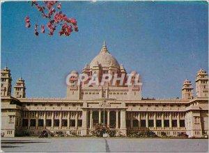 Postcard Modern Ummaid Bhawan Palace Jodhpur India