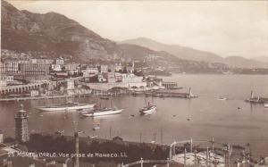 Monaco Monte Carlo Vue prise de Monaco Photo