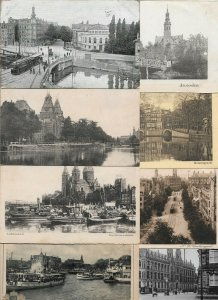 Netherlands Amsterdam Postcard Lot of 30 01.10