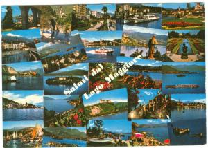 Italy, Saluti dal Lago Maggiore, 1978 used Postcard
