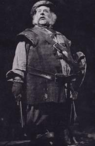 Paul Rogers as Falstaff Royal Shakespeare Company Theatre Postcard