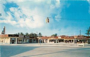 West Palm Beach Florida~Southboro Shopping Center~Pet Store~Laundromat~1960s