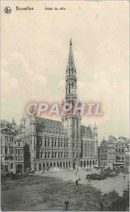 Postcard Old City of Brussels Hotel