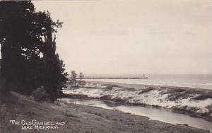 RP,The Old Channel and Lake Michigan, 30-40s