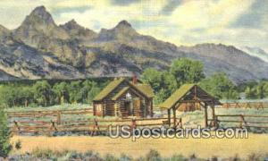 Misc, WY Postcard       ;      Misc, Wyoming Post Card