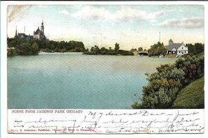 Chicago, IL - Scene From Jackson Park - 1906