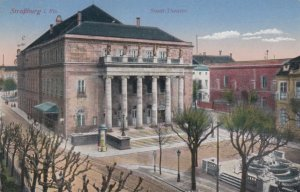 STRASSBURG , France [When Germany] , 1900-10s ; Stadt-Theater