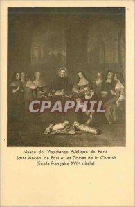 Old Postcard Museum of public assistance paris saint vincent de paul and ladi...
