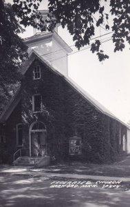 RP; Federated Church, HARTFORD, Michigan, 1950s