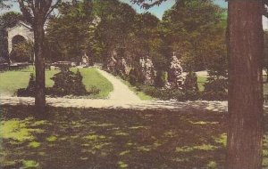 Ohio Garfield Heights Via Dolorosa Leading To The Shrine St Joseph Convent -A...