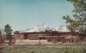 Grand Teton National Park , Wyoming , 1950-60s ; Jackson Lake Lodge