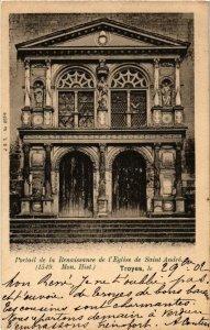 CPA Troyes- Portail de la Renaissance de l'Eglise de St Andre FRANCE (1007616)