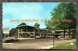 3208 - NIAGARA FALLS Ontario 1970s Parkway Motel on Park St & River Road. NOS