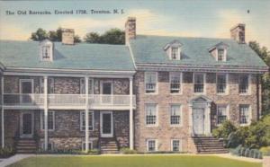 New Jersey Trenton The Old Barracks Erected 1758