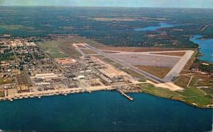 Florida Jacksonville Aerial View U S Naval Air Station