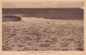 ASBURY PARK, New Jersey, 1900-1910s; The Surf