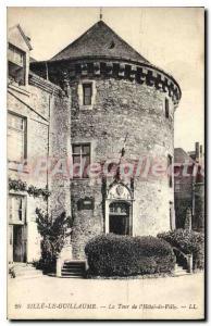 Postcard Old Sille Le Guillaume La Tour De I'Hotel Town