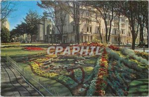 Modern Postcard The Floral Clock Hove