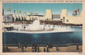 New York World's Fair 1939 Lagoon Of Nations sk1926