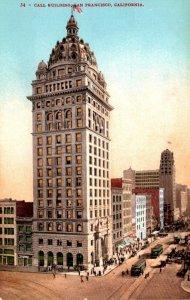 California San Francisco Call Building