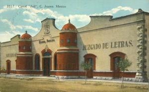 Carcel - Jail - Ciudad Juarez, Mexico - pm 1937 - DB
