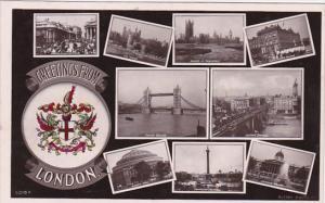 9-view Postcard , London , England , 1908