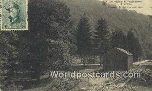 Le vicinal dhoudremont a Vresse Vresse, Belgium Postal Used Unknown, stamp o...