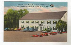 3133  PA  Lancaster The Willows Hotel, Restaurant and Cottages
