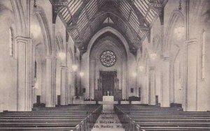 Massachusetts South Hadley Abtey Memorial Chapel Interior Mount Holyorke Coll...
