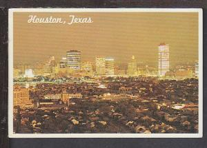 Skyline Galveston TX Postcard BIN