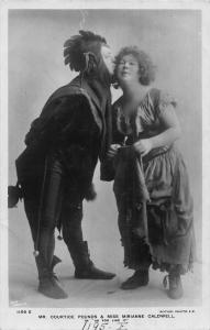 Mr Courtice Pounds Miss Mirianne Caldwell in As You Like It Postcard