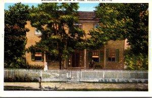 Kentucky Paducah Birthplace Of Irvin S Cobb