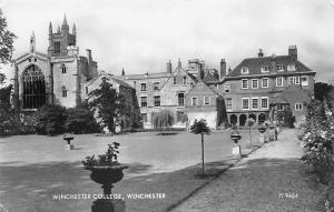 Winchester College Flowers 1962
