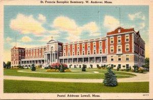 Massachusetts West Andover St Francis Seraphic Seminary