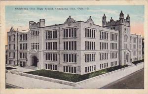 Oklahoma City Oklahoms City High School 1927