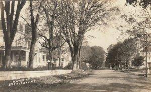 RP; SKOWHEGAN , Maine , 1900-10s ; Water Street
