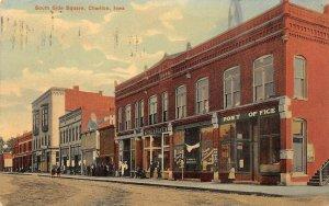 LP10   Chariton  Iowa Postcard South Side Square