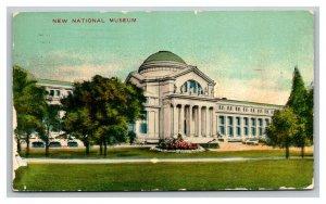Vintage 1911 Postcard Panoramic View The New National Museum Washington DC