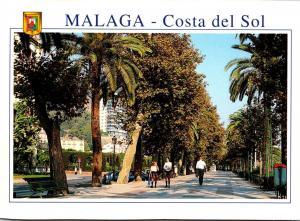Spain Malaga Costa del Sol Paseo del Parque