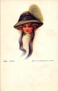 9835 Judith, A woman  wearing a hat
